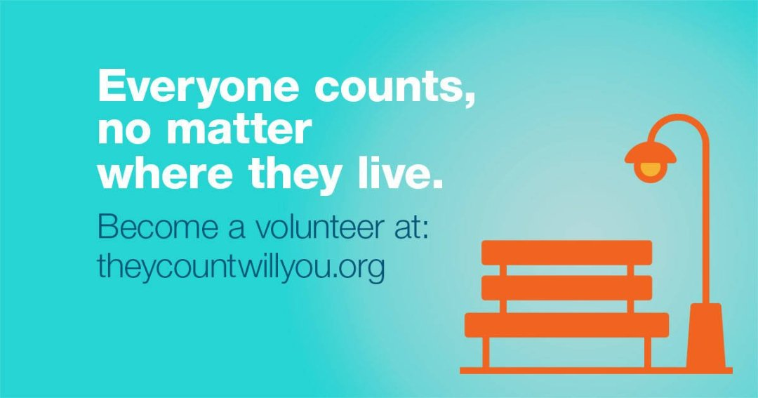 Homeless Count 2017 – Volunteers Needed