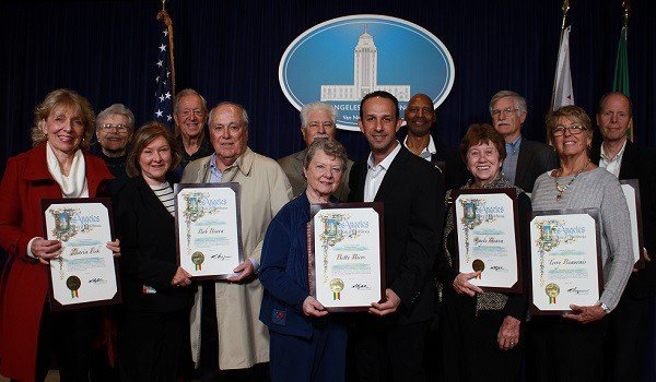Honoring the Old Granada Hills Residents' Group in Council