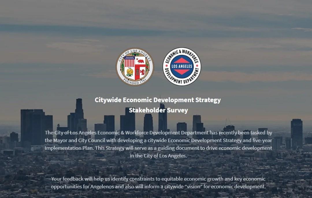 Citywide Economic Development Stakeholder Survey