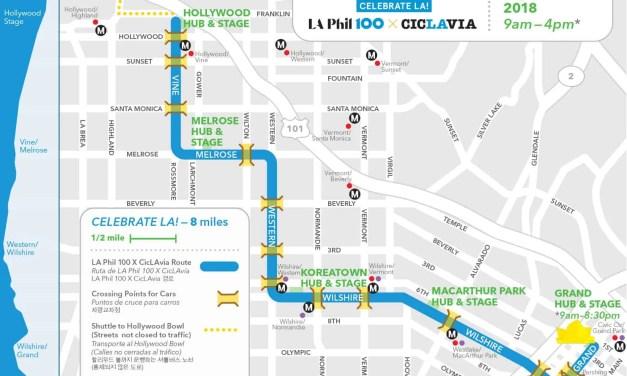Celebrate LA! LA Phil 100 x CicLAvia