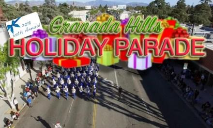 2018 Granada Hills Holiday Parade Video