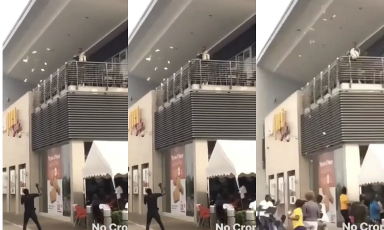 Sakawa Boy sprayed millions of cash at West Hills Mall