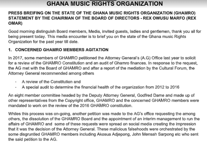 Over GH¢2.3m of GHAMRO's money unaccounted for - Report alleges, Over GH¢2.3m of GHAMRO's money unaccounted for – Report alleges, GHSPLASH.COM