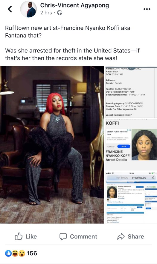 , Chris Vincent digs deep to reveal prison records of Ex-convict Fantana of RuffTown Records, GHSPLASH.COM