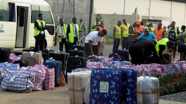 40 Ghanaians deported from the US arrive at Kotoka