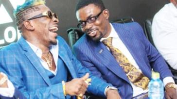 Shatta Wale and Nana Appiah Mensah