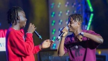 Stonebwoy and Kelvynboy