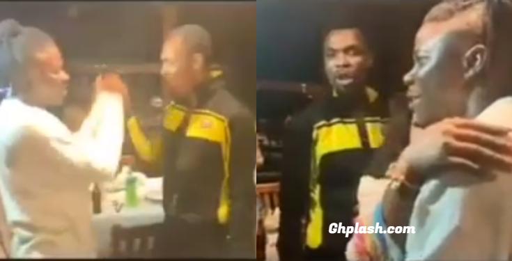 Rev. Obofour reunite Stonebwoy, Blakk Cedi and wife at wife's birthday bash at Ada (Video)