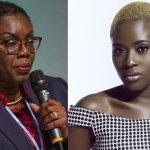 Ursula Owusu and Fella Makafui