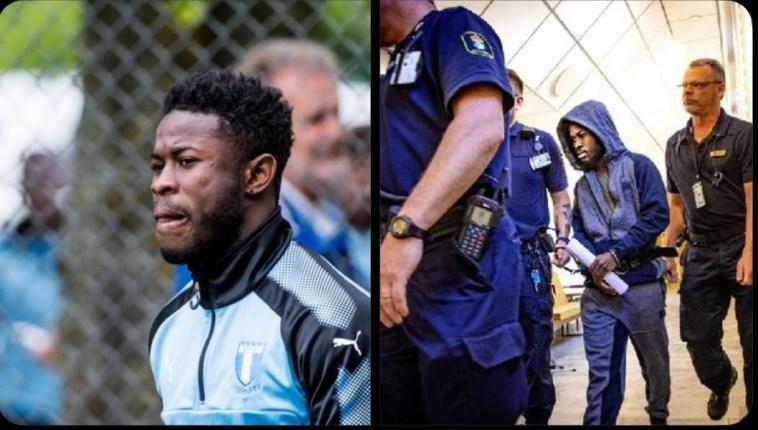 , Ghanaian footballer jailed for ɤape in Sweden to be released amidst fresh evidence, GHSPLASH.COM