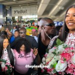 BB Naija Star, Tacha Arrives In Ghana
