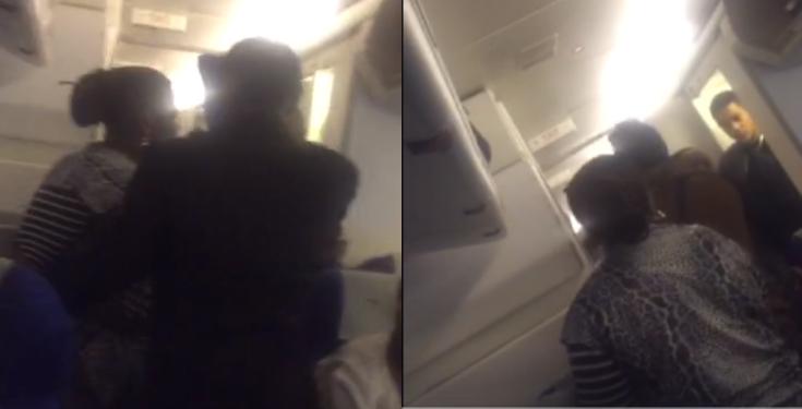 2 Ghanaian women 'fight' on flight from London to Accra