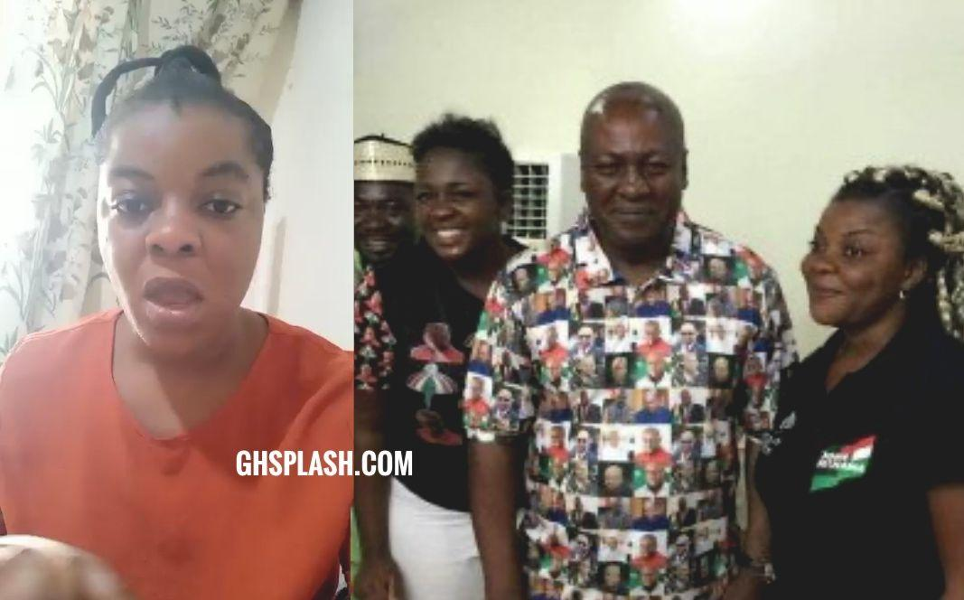 I've swallowed your secret for 4years, don't push me to expose you - Gloria Kani to Tracey Boakye (Video)
