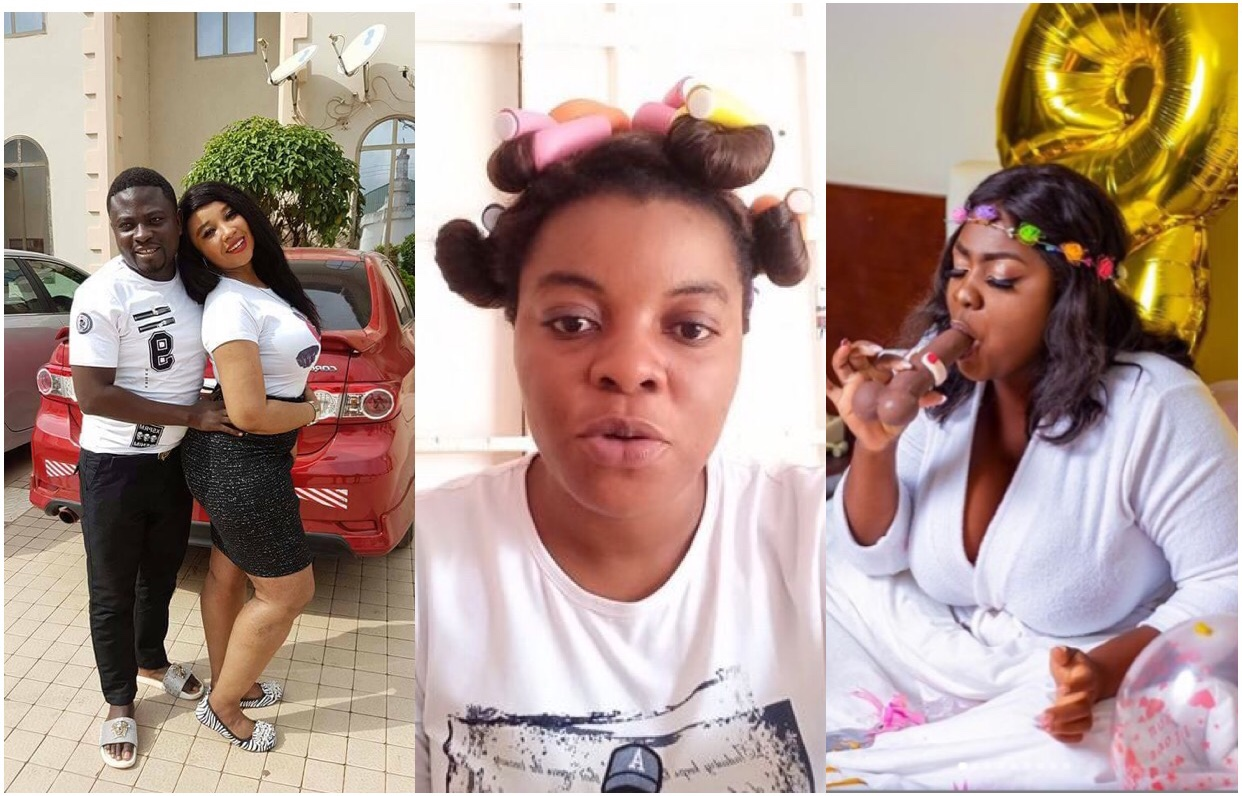 Gloria Kani exposes Brother Sammy, Castro, others who have all chopped Tracey Boakye (video)