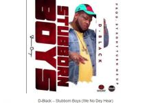 Photo of D-Black – Stubborn Boys (We No Dey Hear)