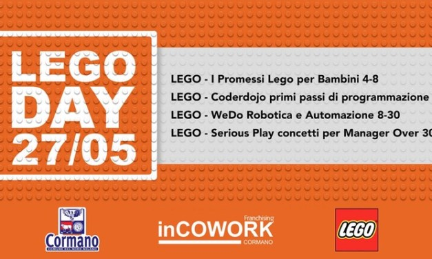Lego Day 2017 con Coderdojo Milano