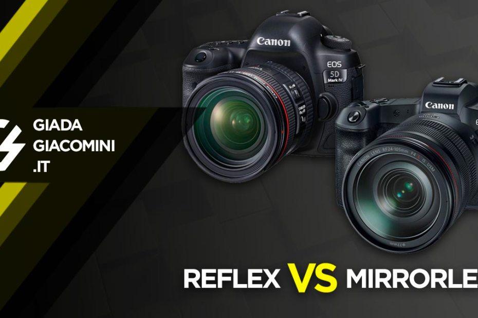 meglio reflex o mirrorless