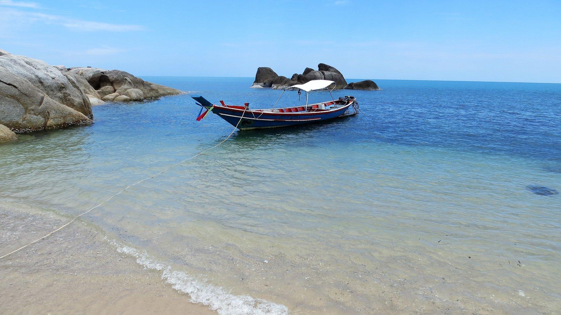 koh samui barca dei pescatori