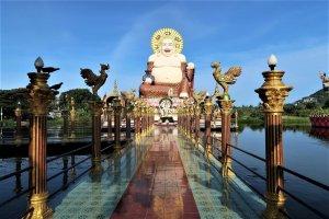 ridente buddha cinese koh samui