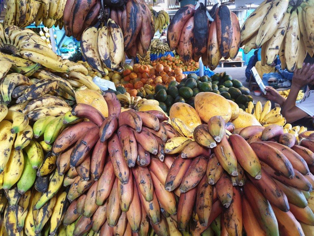 banane mercato di wanchaq