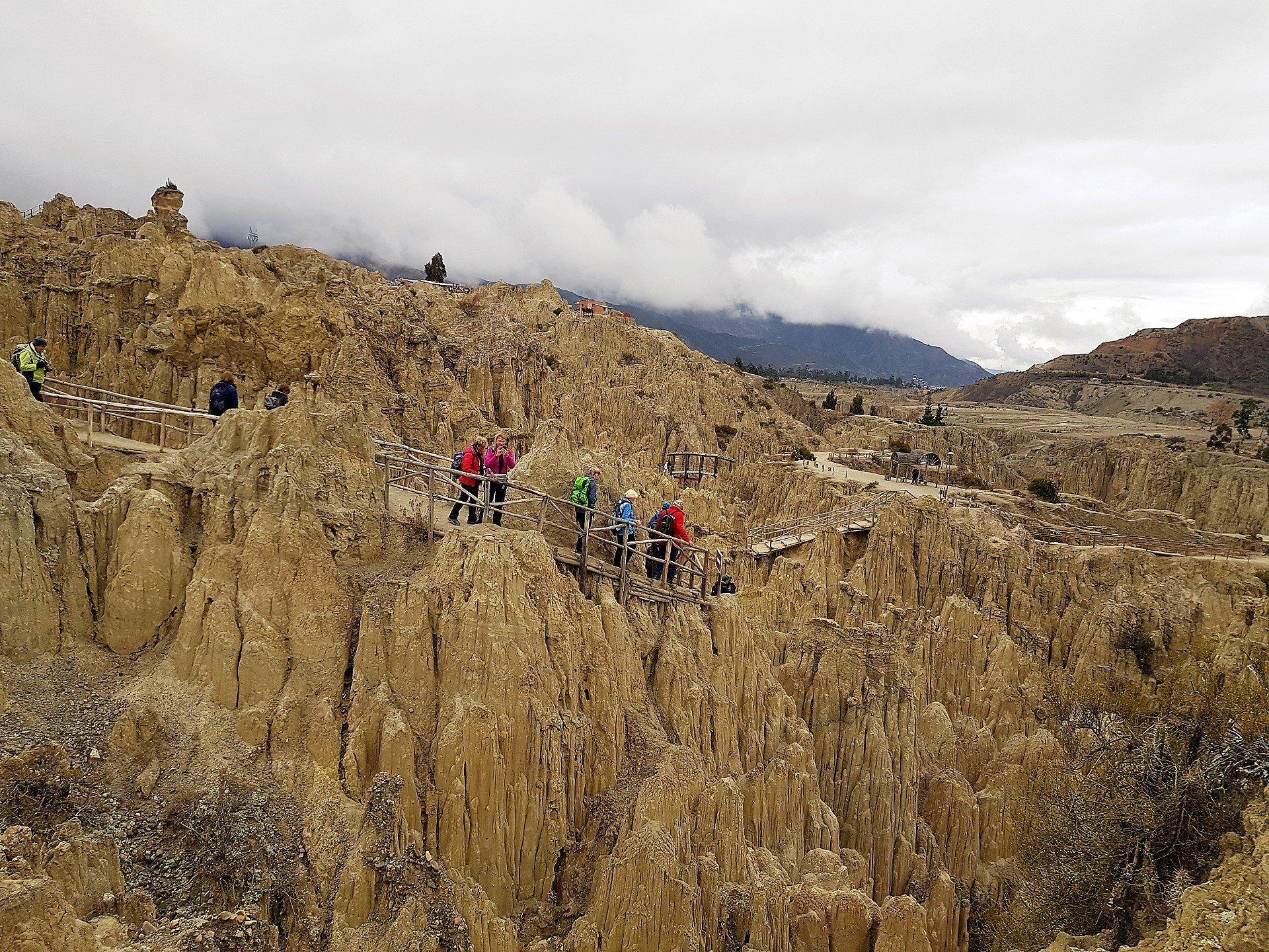 Moon Valley - La Paz - Viaggio in Perù e Bolivia