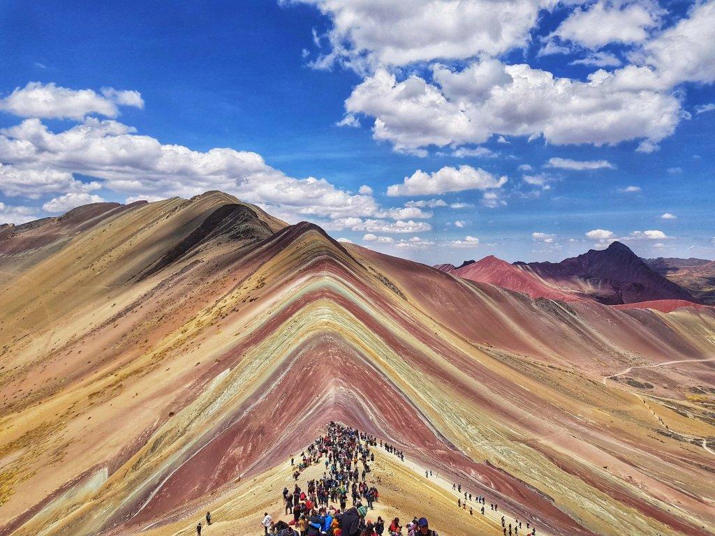 Rainbow Mountain Vinicunca Montagna Arcobaleno Peru