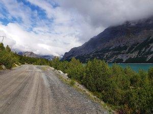primo tratto del sentiero lagho di cancano