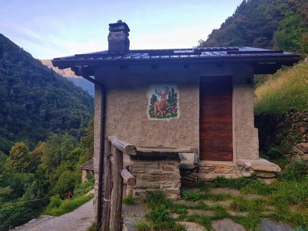 baita casa del ferro fino al rifugio casera vecchia