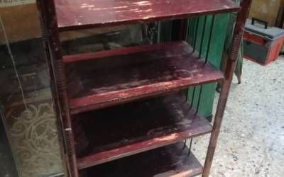 20s Etagere Thonet in beech wood