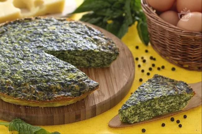 Ricetta Frittata al forno con ricotta e spinaci  La