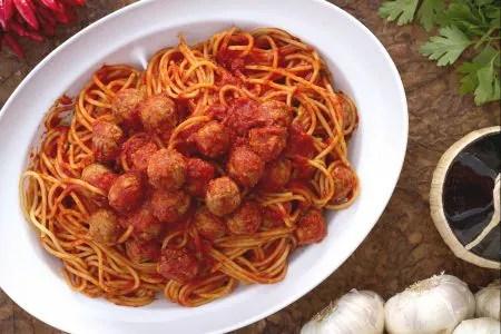 Ricetta Spaghetti con le polpettine  La Ricetta di