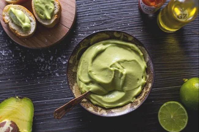Ricetta Finta maionese di avocado  La Ricetta di GialloZafferano