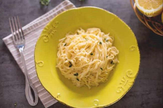 Ricetta Tagliolini al limone  La Ricetta di GialloZafferano