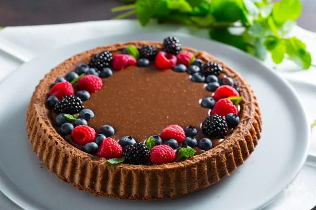 Ricetta Crostata morbida al cioccolato  La Ricetta di