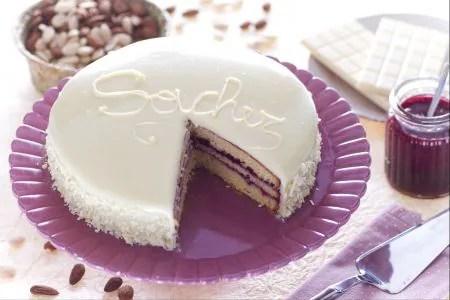 Ricetta Sacher al cioccolato bianco  La Ricetta di