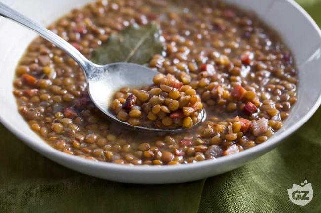 Ricetta Lenticchie saporite agli aromi  La Ricetta di