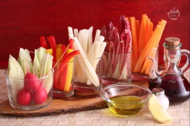 Ricetta Pinzimonio di verdure  La Ricetta di GialloZafferano