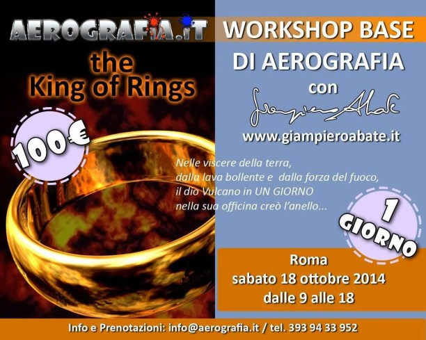 Workshop base di aerografia a Roma