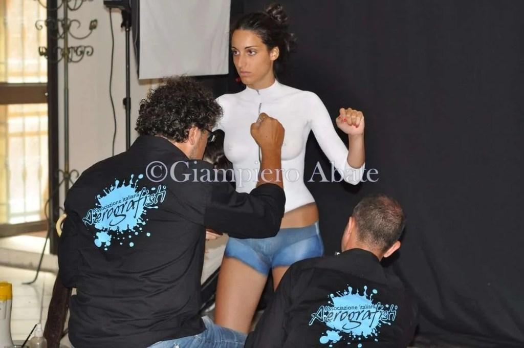 Bodypainting Francesca