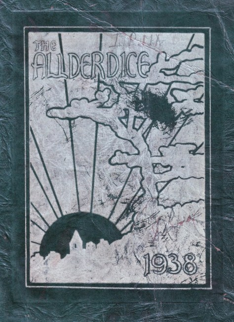 Alderice Yearbook cover