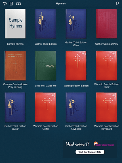 Hymnals  iPad  Android App