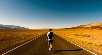 Il viaggio ti rende felice, non la destinazione