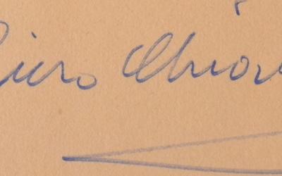 la firma – di Piero Chiara