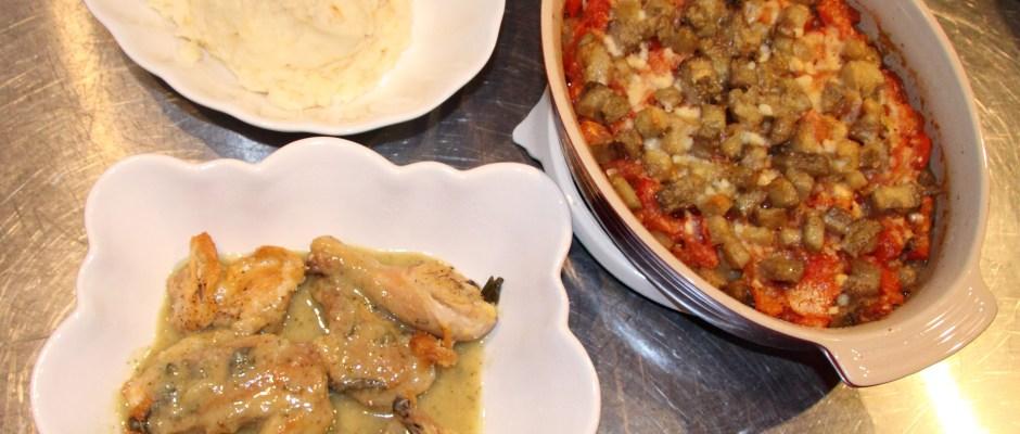 Eggplant Gratin -A French classic dish