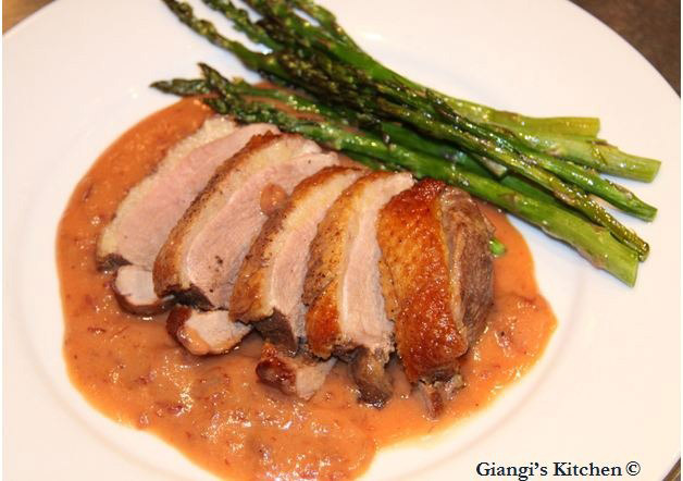 Duck-with-Dried-Cranberries-Tangerines-and-Mascarpone-Sauce.-copy-8x6.JPG