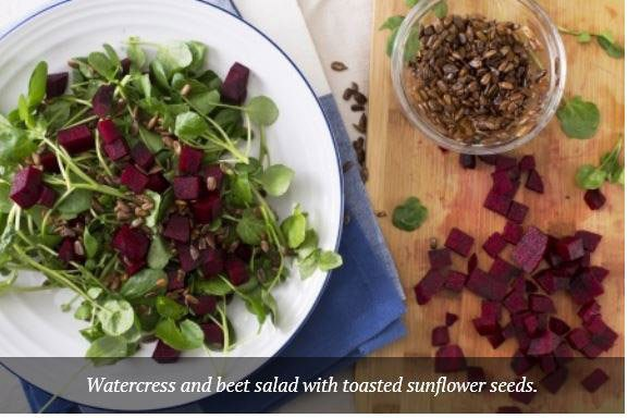 beet and watercress salad herbe.co