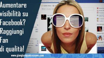aumentare visibilità su Facebook