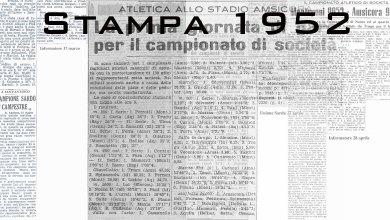 Photo of Il 1952 sugli organi di stampa