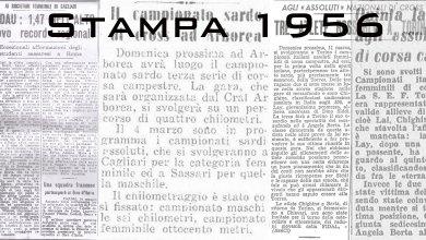 Photo of Il 1956 sugli organi di stampa