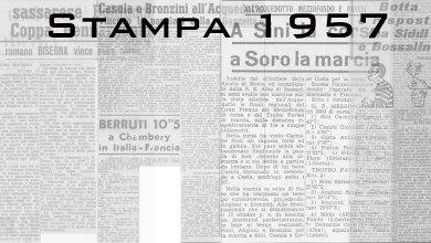 Photo of Il 1957 sugli organi di stampa